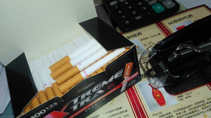 SDIN 全自动卷烟器 拉烟器填烟器 家用电动卷烟机 卷烟工具烟斗客工具 空烟管送男友礼物 红色款 晒单图