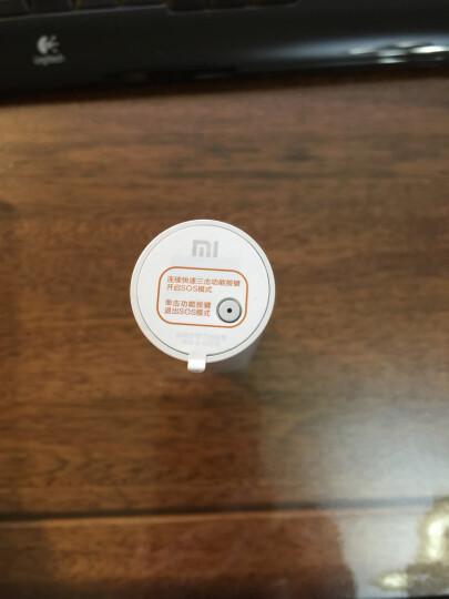 小米(MI) 小米随身手电筒 家用小巧便携 可充电 带移动电源 晒单图