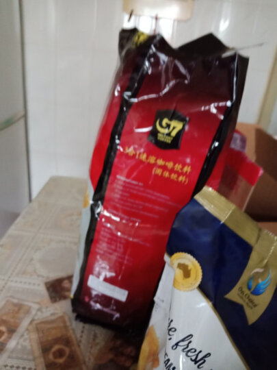 京东海外直采 越南进口 中原G7三合一速溶咖啡1760g 增量版(16gx110条) 晒单图