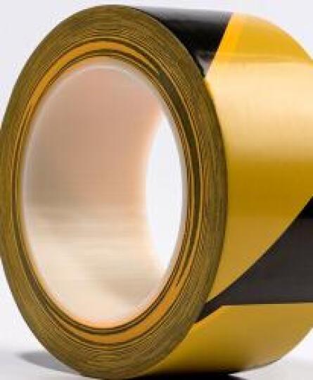 丰得隆-地板胶带 地贴 地面无尘车间黑黄标识彩色胶布长33m警示胶带 48mm宽*33米/黑黄双色 晒单图