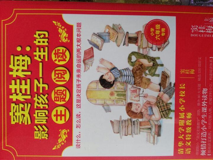 窦桂梅:影响孩子一生的主题阅读(小学一年级专用) 晒单图
