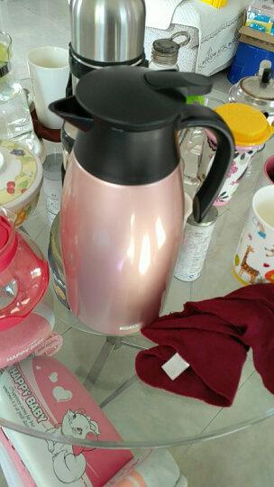 咔咔保温壶家用暖壶水壶热水瓶暖瓶2L开水瓶保温瓶大容量不锈钢保暖壶欧式家用热水壶保温咖啡壶 浪漫紫 晒单图