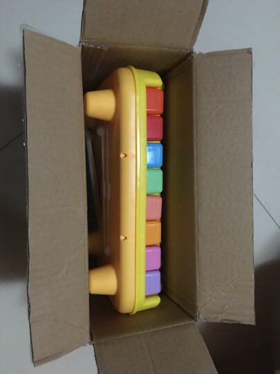 宝丽(BAOLI)音乐大木琴儿童早教音乐玩具 宝宝益智八键手敲琴 婴幼儿乐器八音琴 送6张琴谱1502 更换包装,新老包装随机发 晒单图