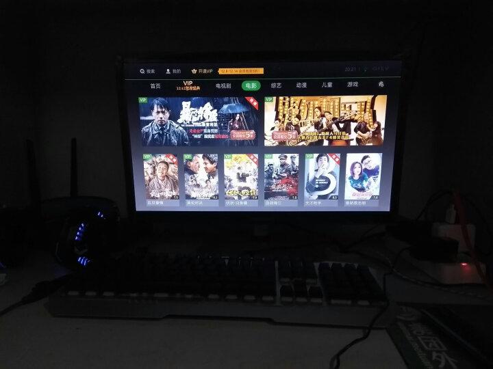 小米(MI)小米盒子3S 智能网络电视机顶盒 4K电视 H.265硬解  安卓网络盒子 高清网络播放器 HDR 黑色 晒单图