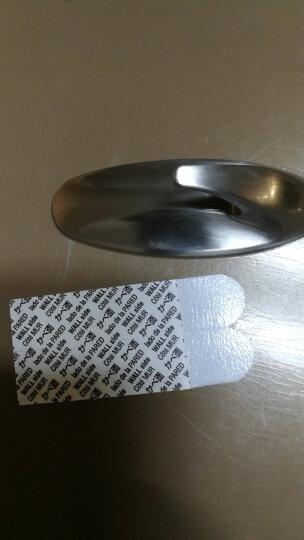 3M高曼 无痕镀金属挂钩 设计家系列强力粘胶装饰型粘钩不伤墙面 中号 晒单图