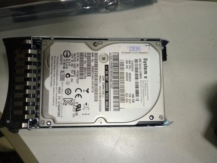 联想(Lenovo) IBM服务器硬盘 System X86 专用2.5英寸热插拔硬盘 146G 10K  SAS 编号42D0633 晒单图