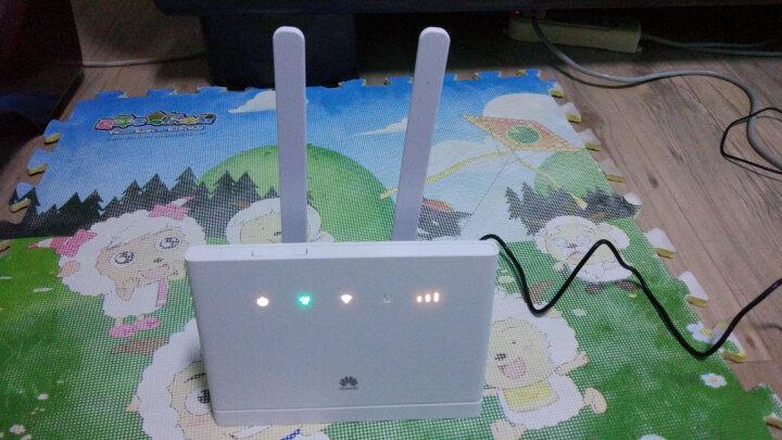 华为(HUAWEI)4G路由器B315/B311无线插卡流量转有线随身Wifi移动热点 B315+电信48G全国流量(一年有效期) 晒单图