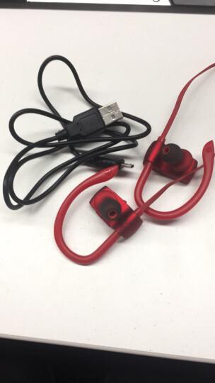 爱国者(aigo) S18无线蓝牙耳机入耳塞式双挂耳运动跑步头戴手机音乐通话苹果华为通用 s18红色 晒单图