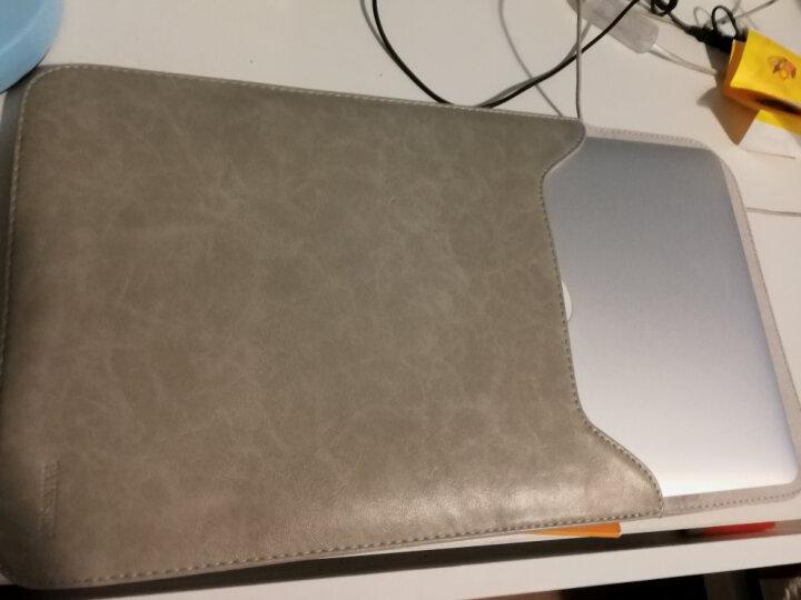 泰克森12电脑包air11苹果笔记本Macbook内胆包pro13皮套mac保护套15英寸 折边微绒款-卡其色 2016年新款pro13.3英寸 晒单图