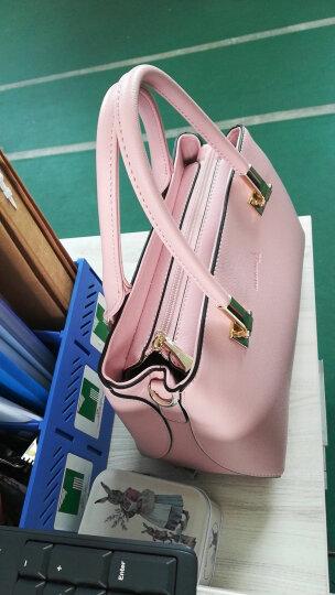 时尚风格袋鼠(BANDICOOT)女士手提包时尚卡通单肩包女斜挎包 0024 粉红 晒单图