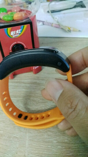 华为(HUAWEI)华为手环 B3 青春版 蓝牙耳机 智能手环 接电话  计步 卡路里 睡眠 闹钟 橙色 晒单图