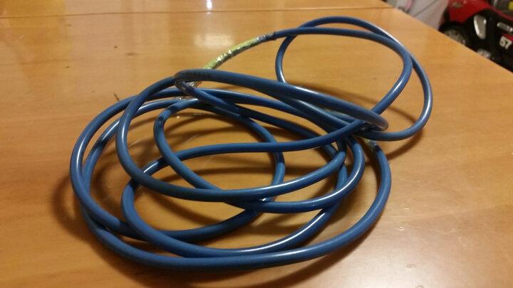 健乐轻便跳绳耐磨PU绳体学生儿童可用做替换绳711多色随机 晒单图