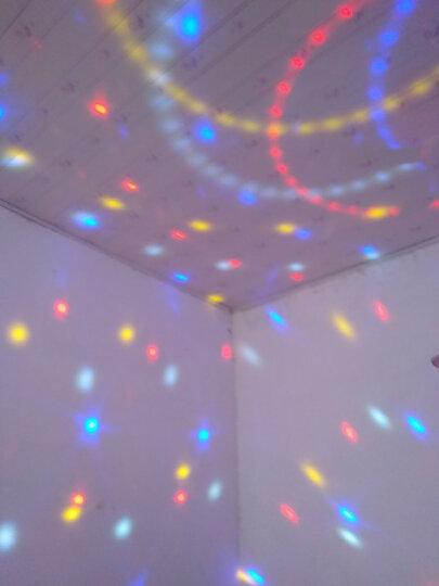 登展 声控氛围灯自转LED 9色水晶魔球七彩灯星空灯舞台灯光婚庆灯酒吧KTV旋转灯闪光灯 可充电款+魔球灯+带遥控器MP3音响箱+蓝牙播放 晒单图
