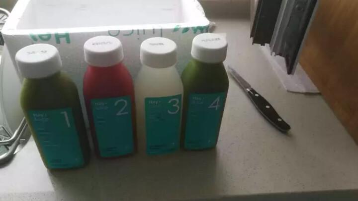 HeyJuice 鲜榨果汁 彩虹特饮尝鲜款 果蔬汁饮料 300ml*4 晒单图
