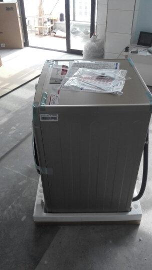 LG 8公斤直驱变频洗烘一体全自动滚筒洗衣机 智能手洗 静音 LED触摸屏(丝铂金) WD-C51ANF48 晒单图