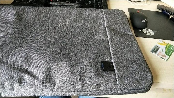 惠普(HP)15.4-15.6英寸男女士商务电脑包时尚横款公文包轻薄手提包斜挎包G8Y15AA灰 晒单图