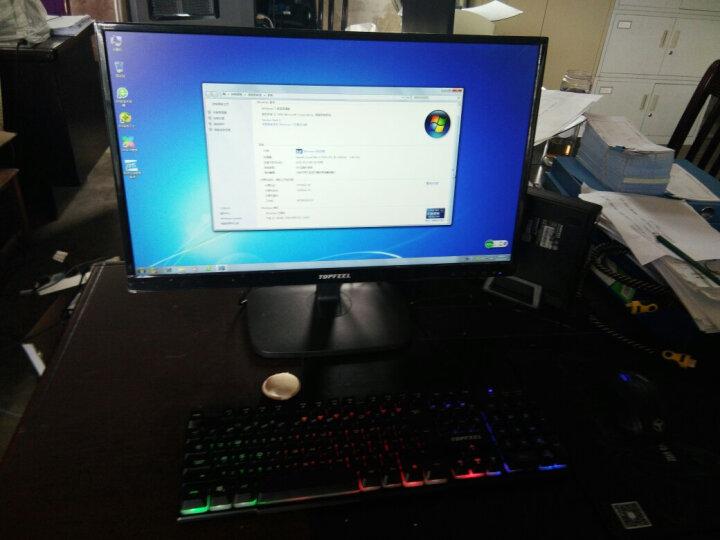 极夜(topfeel)T68M 迷你4K商用台式机电脑整机 23.8英寸(i3-7100 8G 128G固态 COM串口 WiFi 蓝牙 三年上门) 晒单图