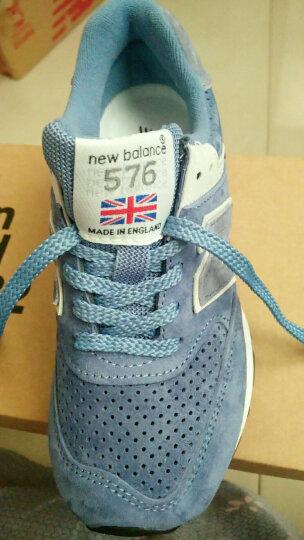 New Balance NB 576系列 女 复古 跑步 休闲运动鞋 W576PMM/鸭蛋青色 37 晒单图