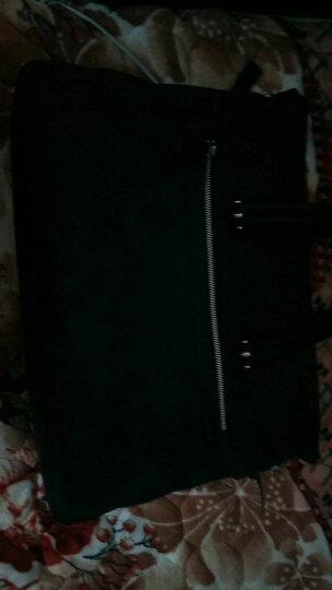 红谷HONGU男士手拎斜挎包时尚韩版个性潮流手提包 H5230466深灰 晒单图