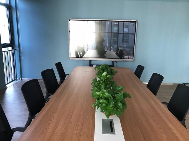 皓丽(Horion)75M1 75英寸智能会议平板 触摸触控一体机 电子白板 液晶电视 视频会议 培训 教育教学 送挂件 晒单图