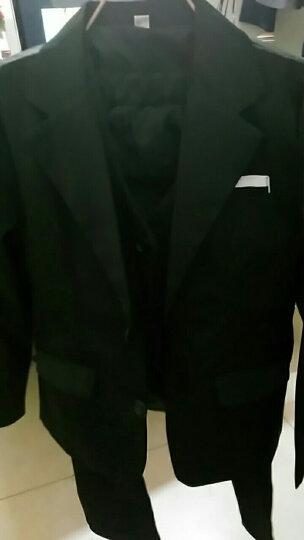 乐趣成长儿童小西装套装外套男孩花童礼服小孩韩版宝宝西服休闲套装13岁 格子外套+裤子+马甲+衬衫 150 晒单图