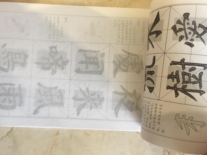 华夏万卷·名家名帖精选毛笔字帖:颜真卿楷书入门(第二版) 晒单图