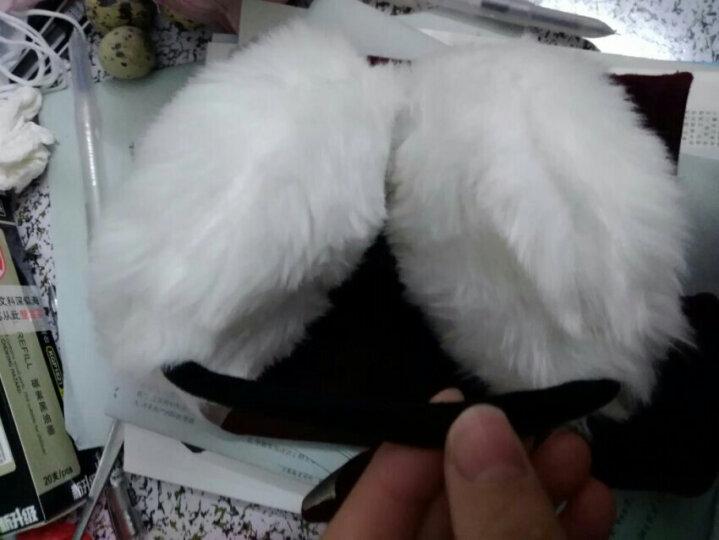 百尚意特 冬季保暖女士儿童耳罩 可爱毛绒加厚耳套 防风耳暖护耳耳包 红色 晒单图