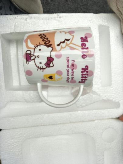 HELLO KITTY(凯蒂猫)马克杯陶瓷情侣水杯骨瓷星巴克杯子可爱创意咖啡杯 快乐圣诞 晒单图