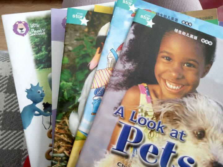 大猫自然拼读一级2 Big Cat Phonics(适合小学一年级 读物6册+阅读指导1册+拼读卡片1套+MP3光盘1张 点读版) 晒单图