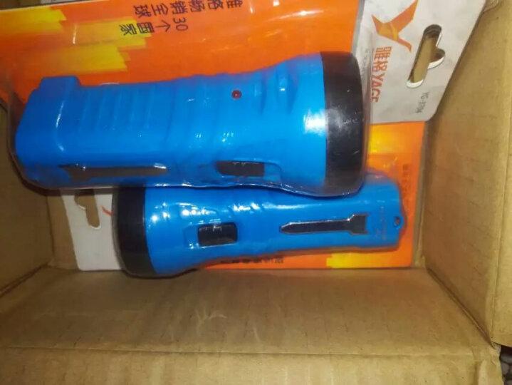 雅格3LED充电式验钞手电筒3704 晒单图