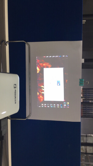 澳典(AODIN) 微型投影仪家用办公 迷你wifi 智能便携投影机(1080p高清 AI智能语音) M6s 64G 旗舰版 语音智能 梯形矫正 官方标配 晒单图
