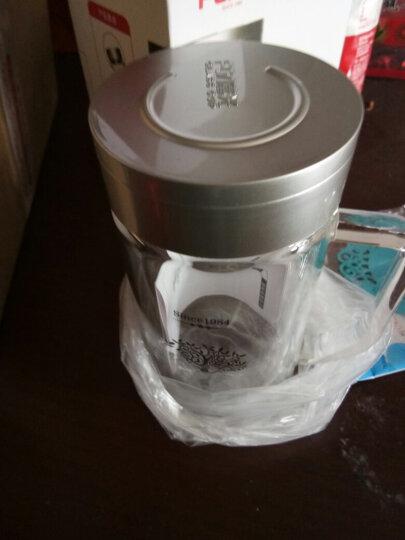 富光双层玻璃办公杯高硼硅耐热大容量牛饮水杯 过滤网茶杯便携带盖大号杯子 FB1009-320Bml(有过滤网 颜色随机) 晒单图