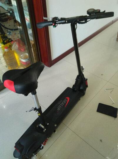 希洛普(SEALUP) 锂电池折叠迷你电动车 城市便携电瓶车自行车  电动滑板车 可折叠电动车电瓶车 Q9/国家3C电机/8.8AH /30-35km 晒单图