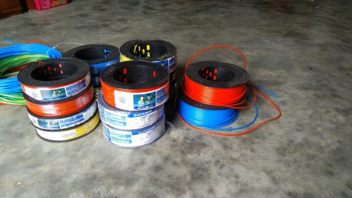 正泰电工 电线电缆 同轴线缆 闭路线 有线高清电视线 100米 正泰电线电缆 晒单图