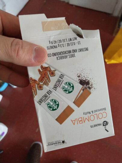 星巴克(Starbucks) 美国星巴克VIA速溶咖啡美式无糖黑咖啡纯咖啡条装免煮咖啡粉提神 VIA速溶咖啡85.8g 晒单图