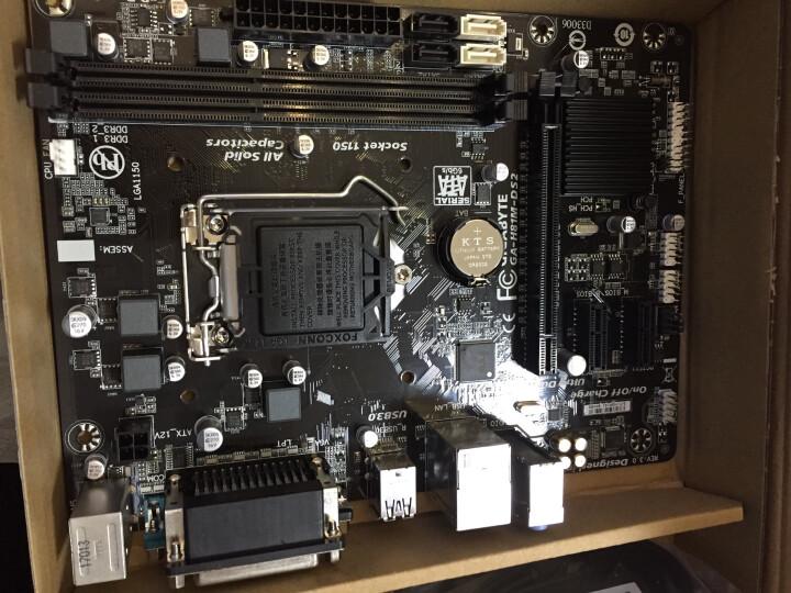 技嘉(GIGABYTE) H110M-DS2 DDR4 LGA1151全固态电容1151 晒单图