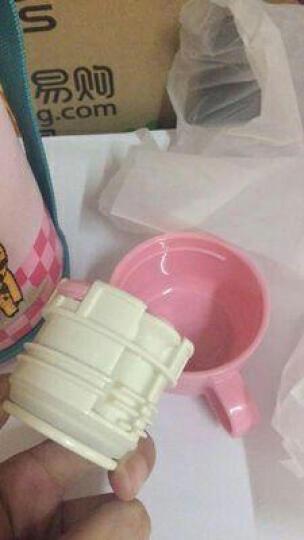 爱宝熊(IBOOLBEAR) 儿童保温杯宝宝保温杯  带吸管三用316不锈钢超长保温防漏 Hello Kitty猫304不锈钢 晒单图