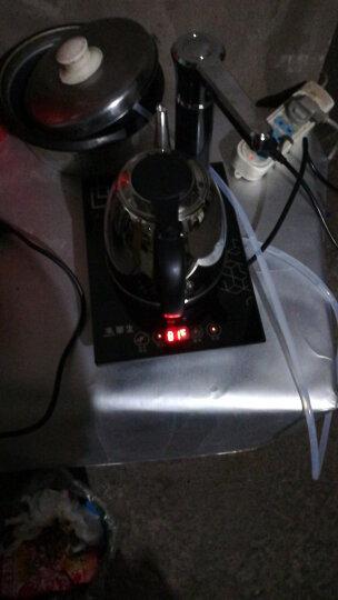 【京东7仓】华生(washon)304不锈钢自动上水电热水壶电茶炉电子茶盘水壶茶具D8-T 晒单图