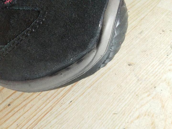 代尔塔 劳保鞋非钢包头防砸防刺 翻毛皮双密度底中帮安全鞋 夏季透气工作鞋301210 39 晒单图