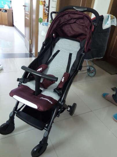 福贝贝(For Baby) 超轻便伞车婴儿推车旅行便携宝宝童车一键收车可折叠可坐可躺 红色 晒单图