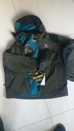 BLACK YAK/布来亚克 男款Gore-Tex防水透气套棉服三合一冲锋衣FGM403 76蓝灰色 L码175/92A 晒单图