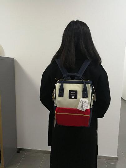 背包女新款双肩包女双肩背包女男日本包日韩版新款日离家出走包经典款 大红色【DOR】大号 晒单图