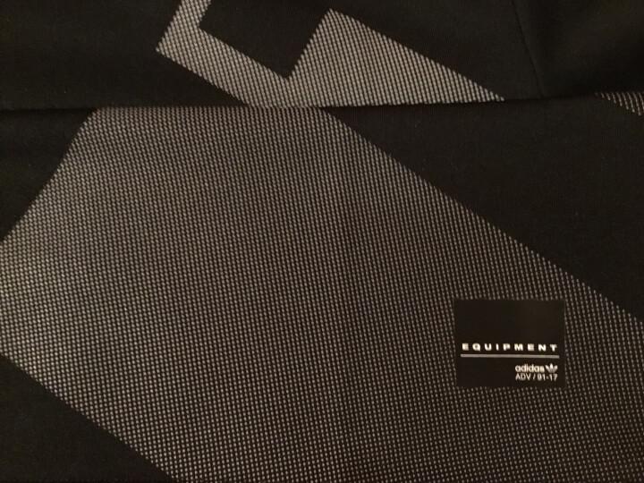 阿迪达斯adidas 官方 三叶草 男子 短袖上衣 黑 BQ2046 如图 M 晒单图