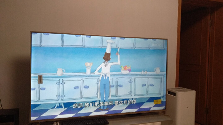 风行电视 32英寸三星屏液晶平板智能电视 8G内存窄边网络LED内置WiFi电视 N32(黑色) 晒单图