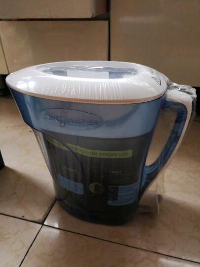 ZEROWATER 零水净水壶 净水器家用直饮厨房自来水过滤器十杯蓝色经典款ZP-010 八杯装净水壶+一盒净水壶滤芯(2只装) 晒单图