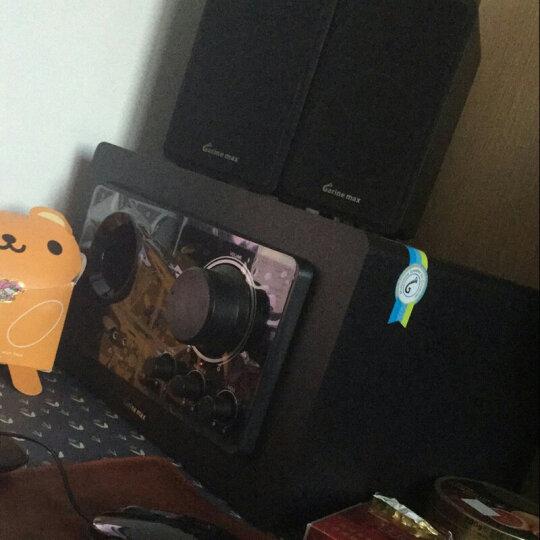 德国巨炮 多媒体电脑音响 台式机 超重低音炮客厅家用电视迷你k歌套装 蓝牙音箱笔记本木质5.1回音壁 带无线蓝牙功放标准5.1声道音响 晒单图