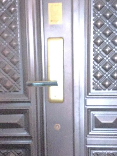 德施曼指纹锁S510 电子锁智能门锁密码锁防盗门锁家用 香槟金 晒单图