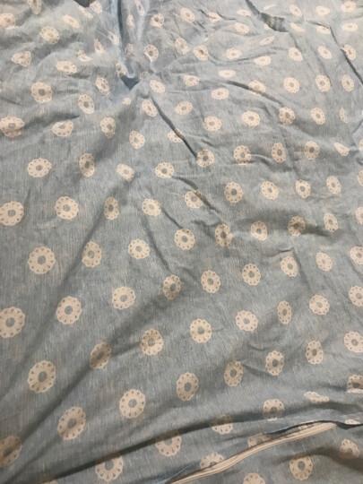 水星家纺四件套全棉纯棉简约双人床上用品床单枕套被套 海洋生活 1.5M(适配200*230cm被芯) 晒单图