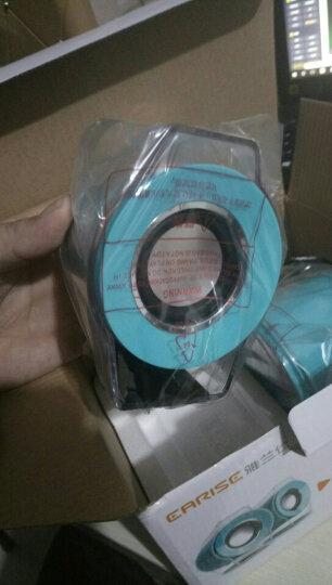雅兰仕(EARISE) AL-102 2.0声道 线控 笔记本音箱 蓝色 晒单图