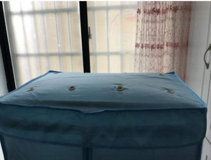 干衣机家用可折叠大容量烘干机婴儿宝宝衣服烘衣机静音节能速干衣架烘鞋机摇控定时风干机烘干器烘衣 小蛮腰触屏可折叠(蓝色) 晒单图